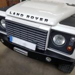Defender ex-tec hidden winch bumper